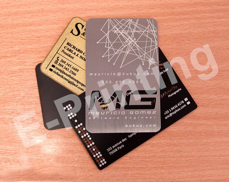 Metal Business Card Scratch Pri - eprinting | ello