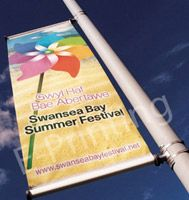 Lamp Post Banners post mounted  - eprinting | ello