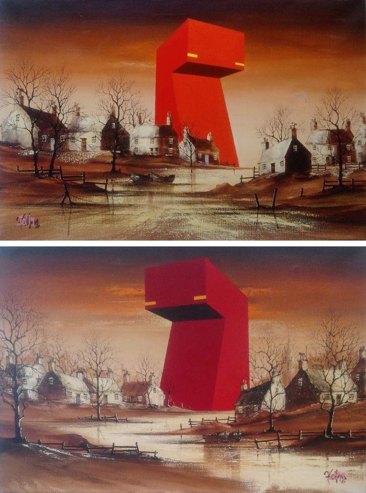paintings british artist James  - herrpfaff | ello