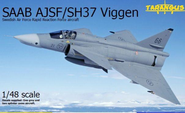 SAAB SF37 Viggen SWAFRAP fra Ta - haldvaerk | ello