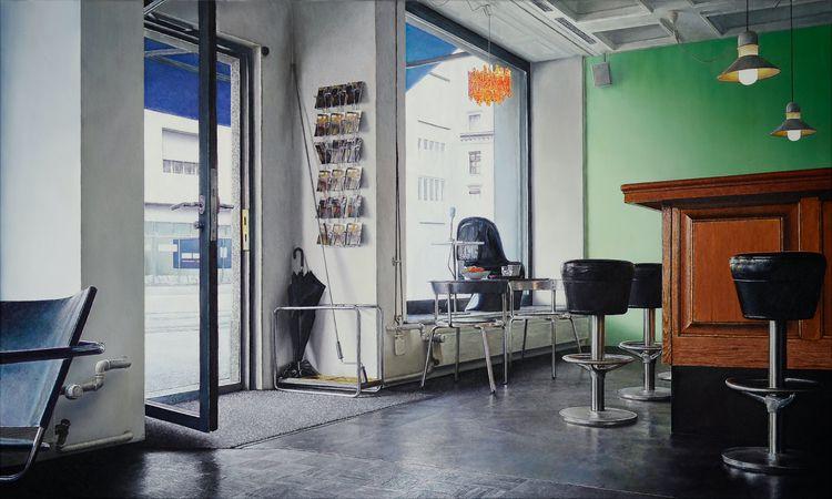 Place 2019, 60 × 100 cm, oil ca - christopheberle | ello