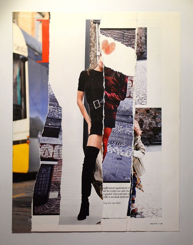 mode-selection (2019 - art, collageart - chraub | ello