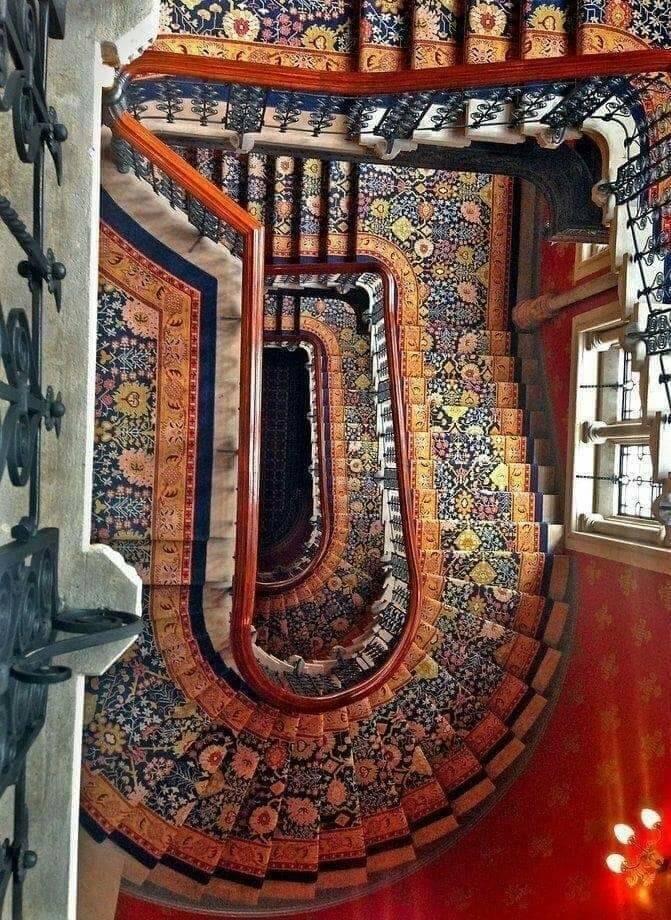Staircase St. Pancras Hotel, bu - oldendaze   ello