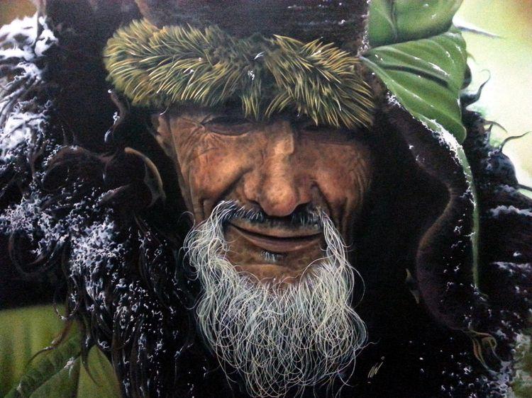 Shahriar Khosravi passion paint - expositionartblog   ello