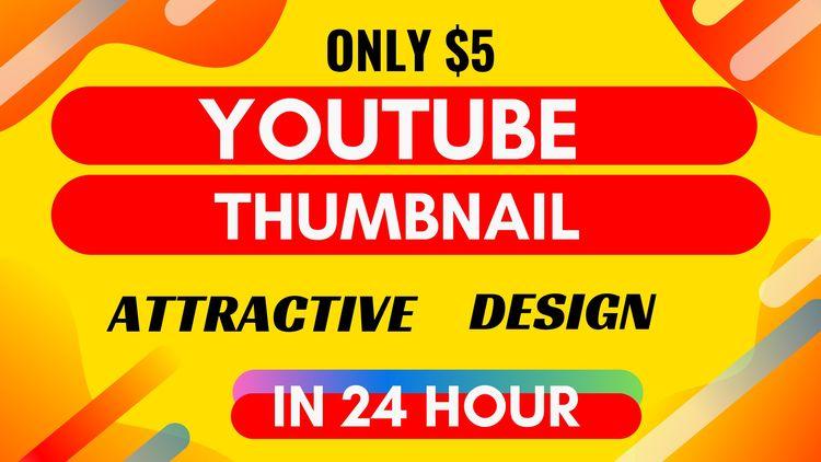 design 2 youtube thumbnail 24 h - seoakabir | ello