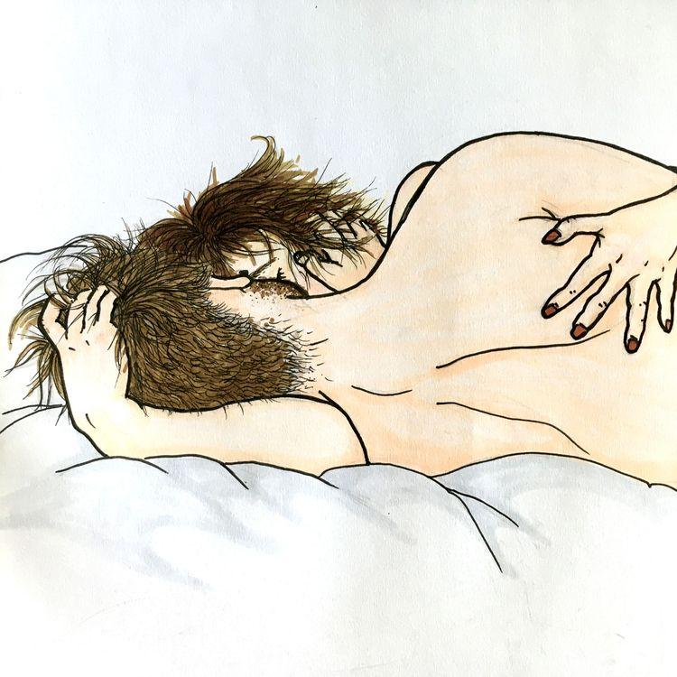 Love - illustration, pensketch, cpicmarker - janssenjule | ello