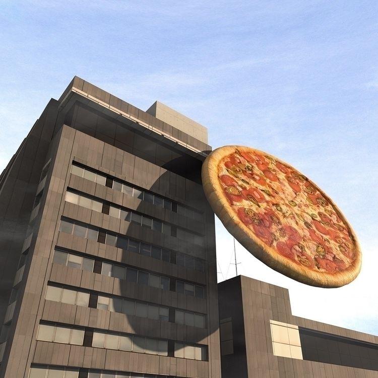 BIG PIZZA TOWN - artdirection, im_possible - lukesistegia | ello