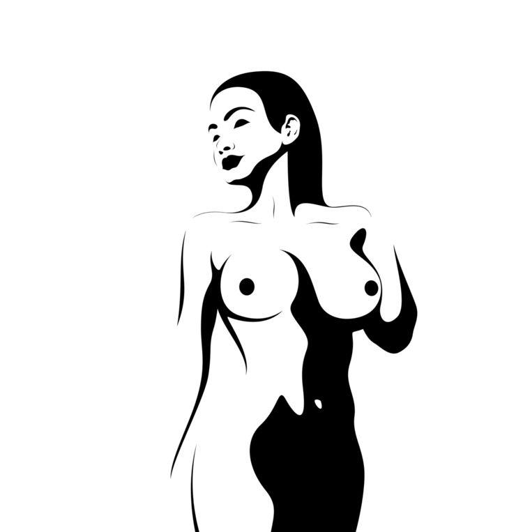good - woman, female, grace, graceful - discreteblack | ello