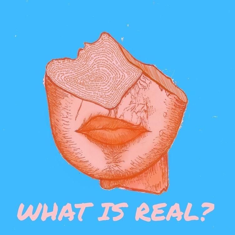 "Real? (2018). Interpretation ""F - seaofsirens   ello"