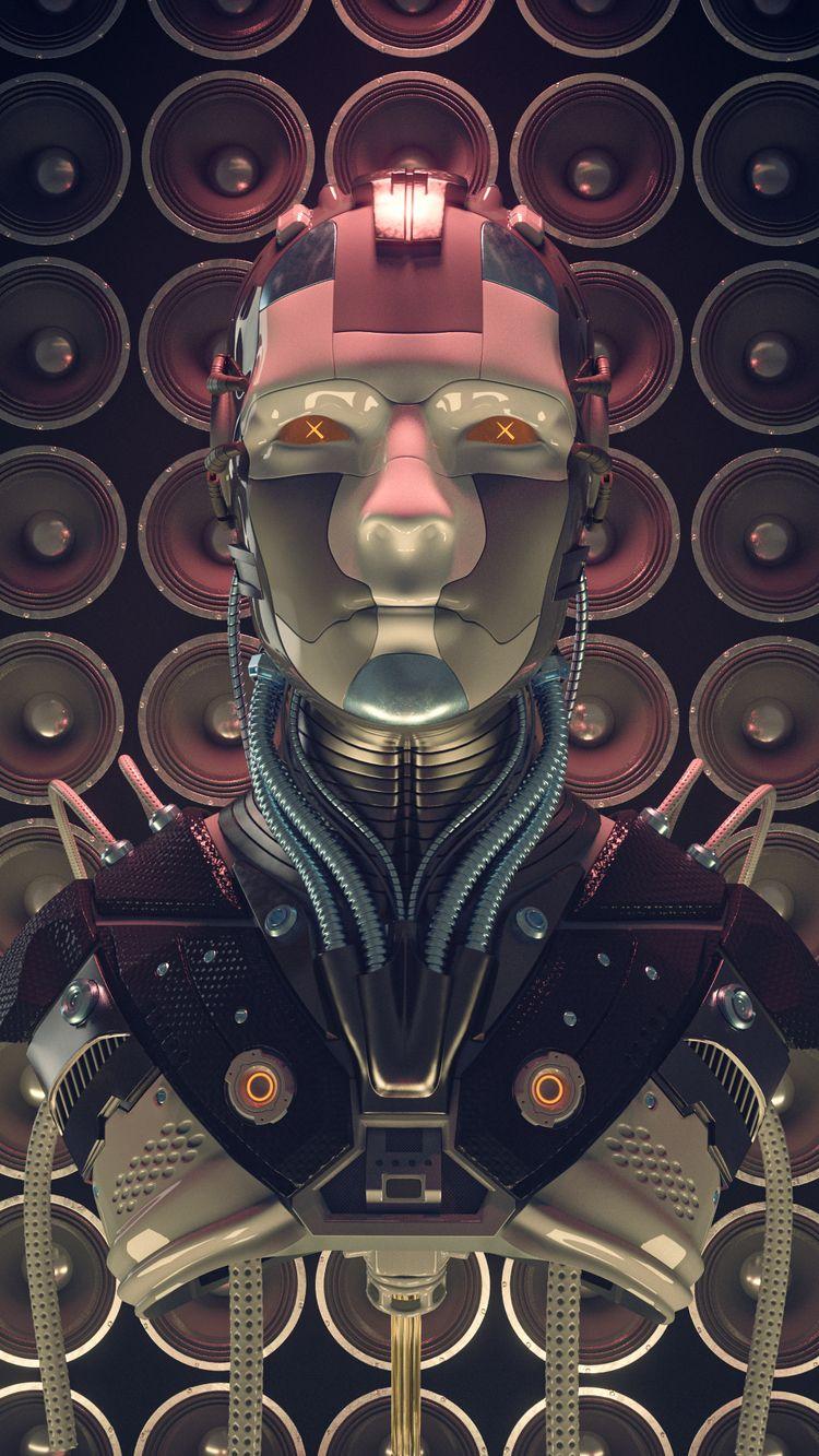 yetdeadbot - render, redshift3d - keeraah | ello
