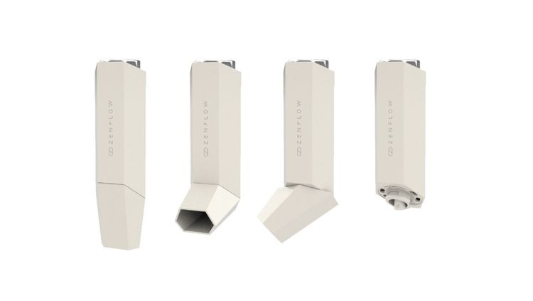 asthma, case, product, 3d - flatbitstudio | ello