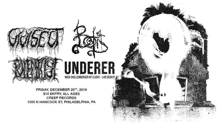 solo show Underer Philly Decemb - inspector_shells   ello