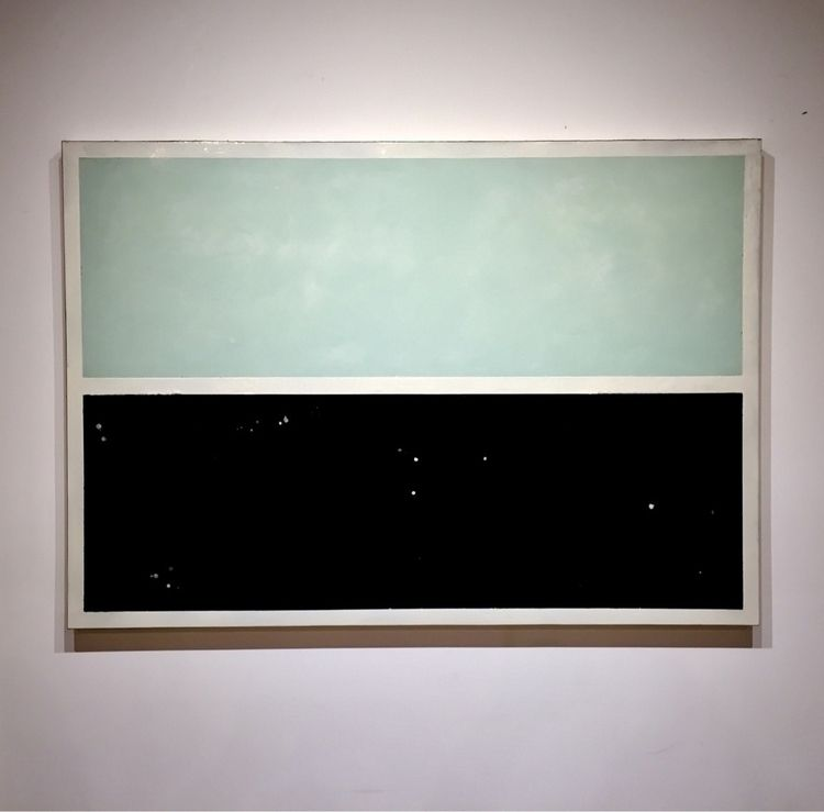 Wax, resin, pigments panel 42x  - parkercalvin | ello