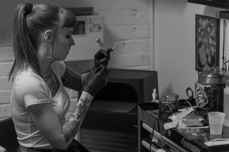 Chelsi Taboo Tattoo Studio, Dal - dangilman   ello
