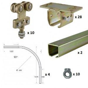 Multirail Basic Kit overhead co - runnersuk | ello
