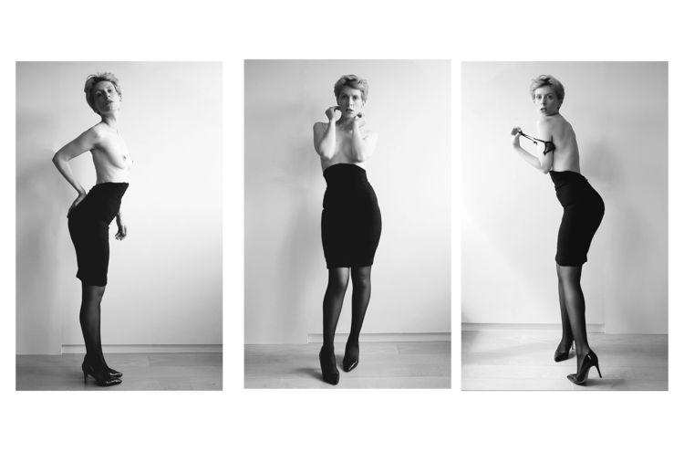 Newton - Photography, Selfportrait - jesuismarilyn   ello