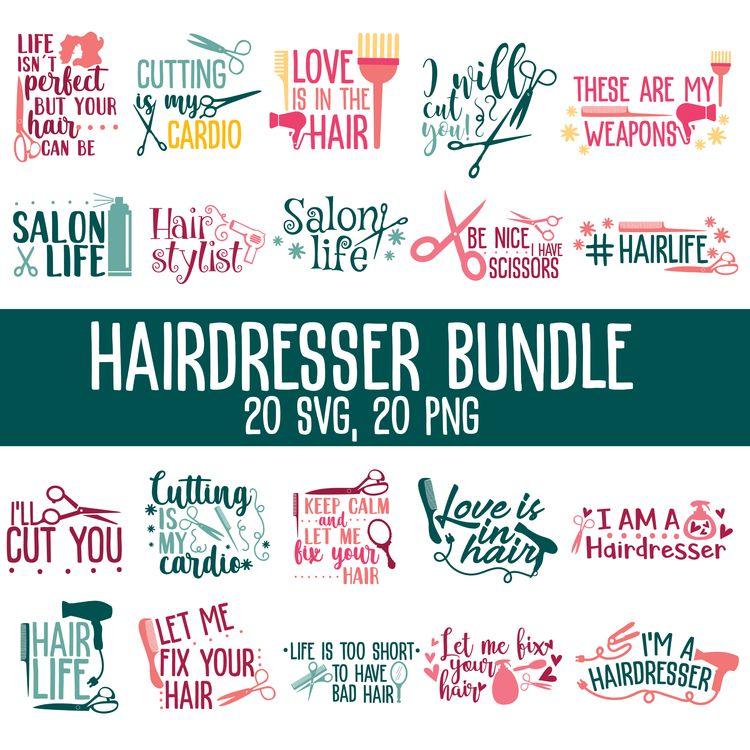 HAIRDRESSER BUNDLE - hairdresser - annijajansone   ello