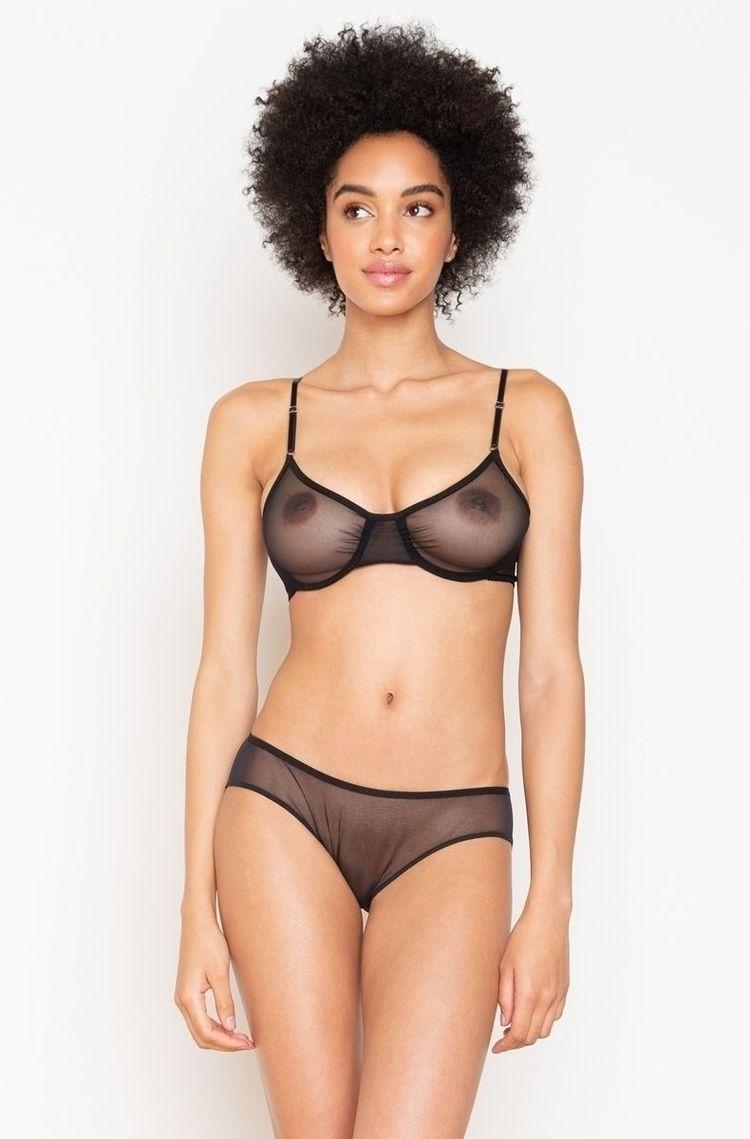 lingerie, bra, panties, seethrough - baelingerie | ello