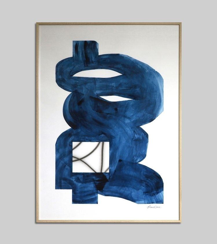 Painting - Acrylic 50×70 cm Pap - arnaudenroc   ello