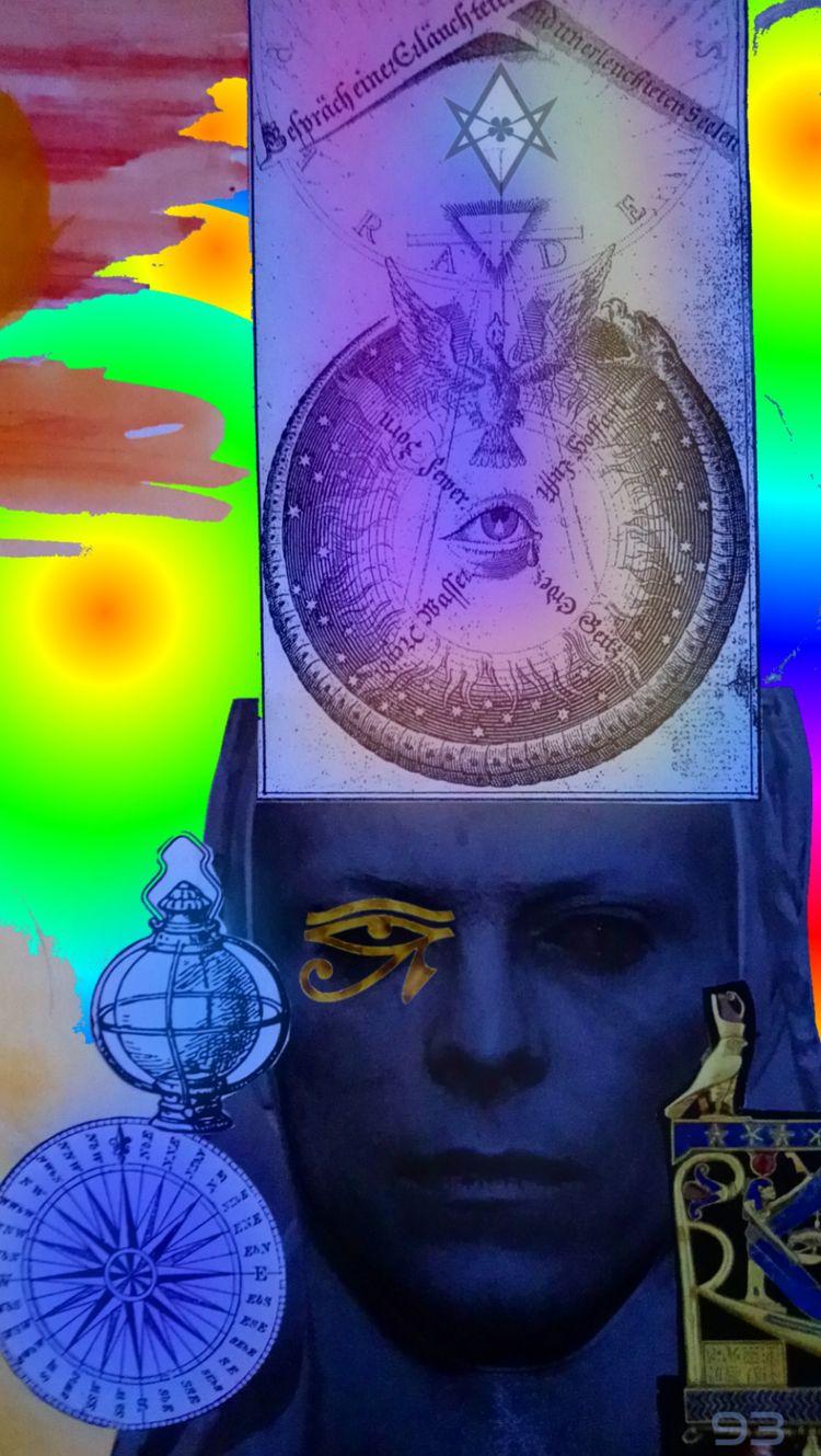 MAN FELL EARTH - novaexpress93, david_bowie - novaexpress93 | ello