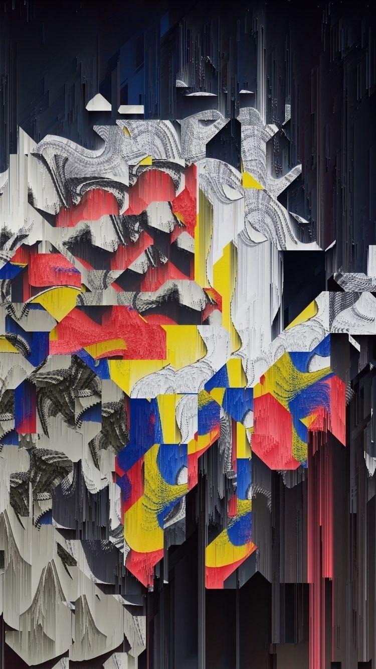 art, abstract, digital, glitchart - phil_clark   ello