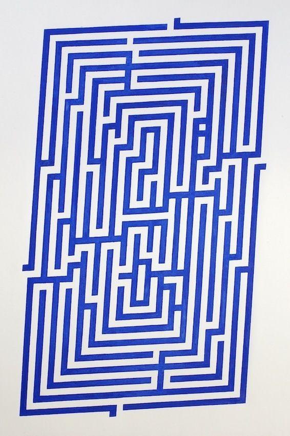 Amaze 2015 (Wood block print, 7 - dirkmarwig   ello