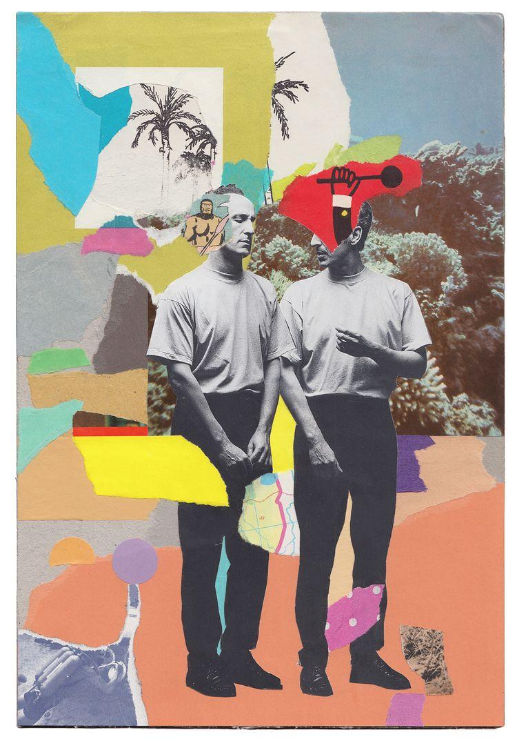 art, collage, abstractart, abstractcollage - wischnik | ello