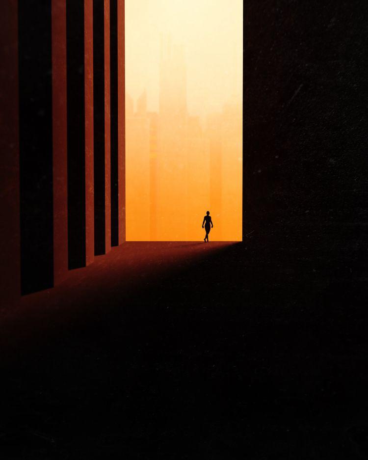 HALL // Blade Runner type vibes - tuomodesign | ello