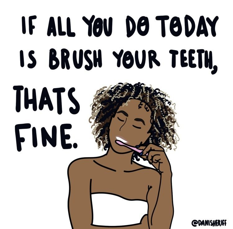 today brush teeth, fine - danisheriff | ello