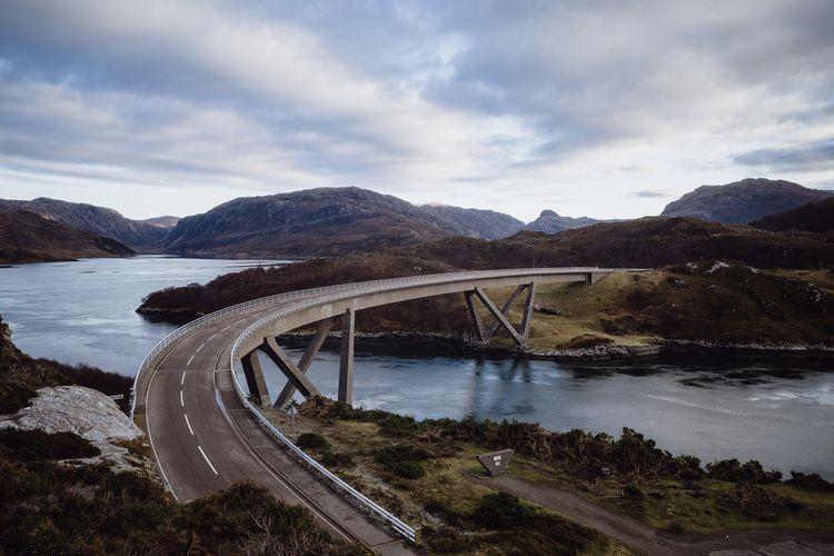kylesku, scotland, bridge, sutherland - dfcf | ello