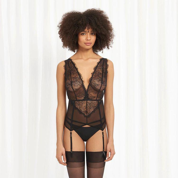 lingerie, lace, bra, bodysuit - baelingerie   ello