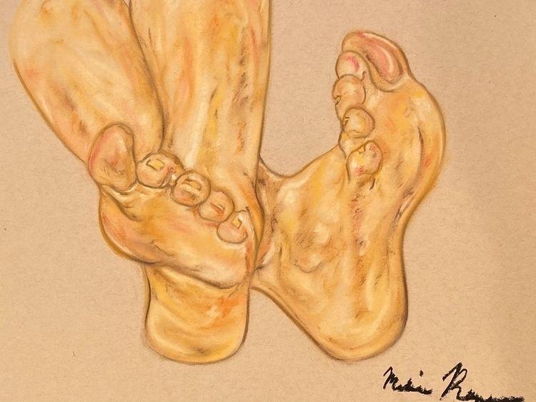 Feet- Melissa Romeo Figure Draw - melissa-m-romeo | ello