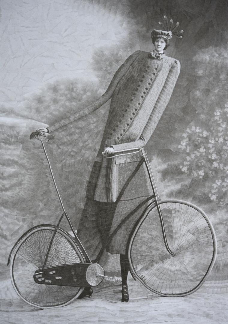 Anonymous cyclist 8.2 11.6 inch - loladupre | ello
