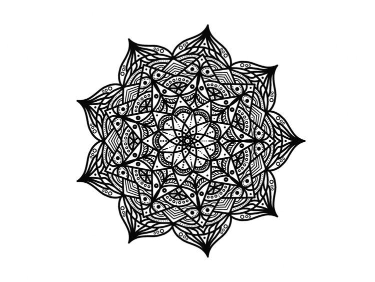 Mandala design morning - mandala - abemusto | ello