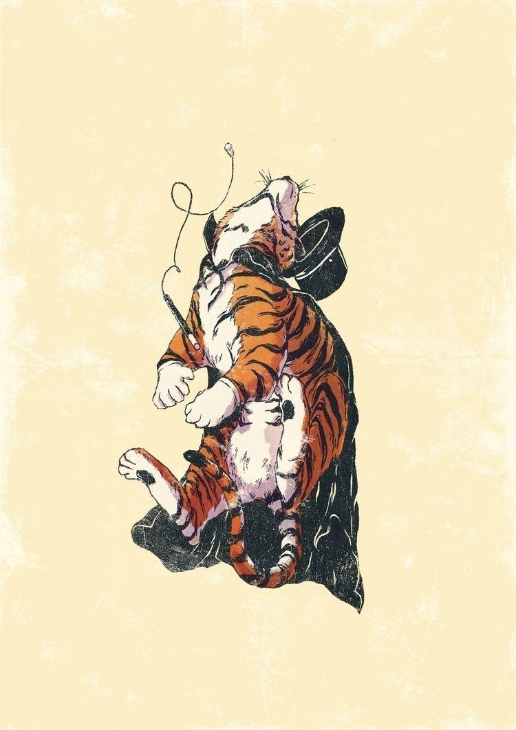 Tiger Magician, Tako, Total Neo - danielido | ello