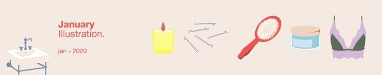 January — Illustration - mariamarchesi   ello