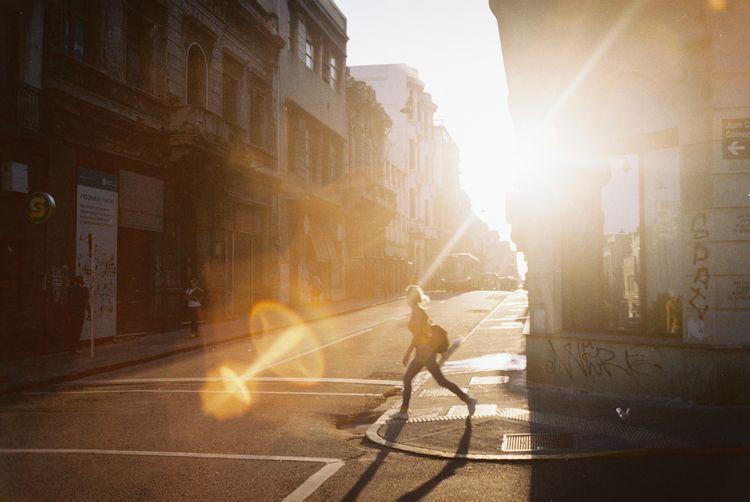 Crossing light - 35mm, film, kodak - fedodes   ello