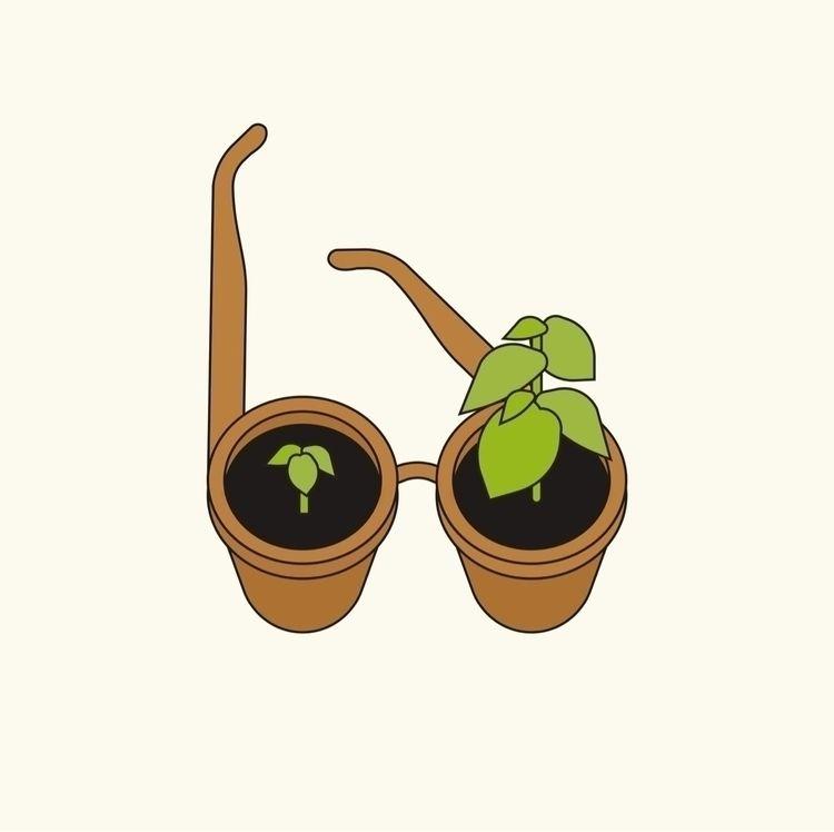 Stay green cenge vision. person - pavelpopov | ello