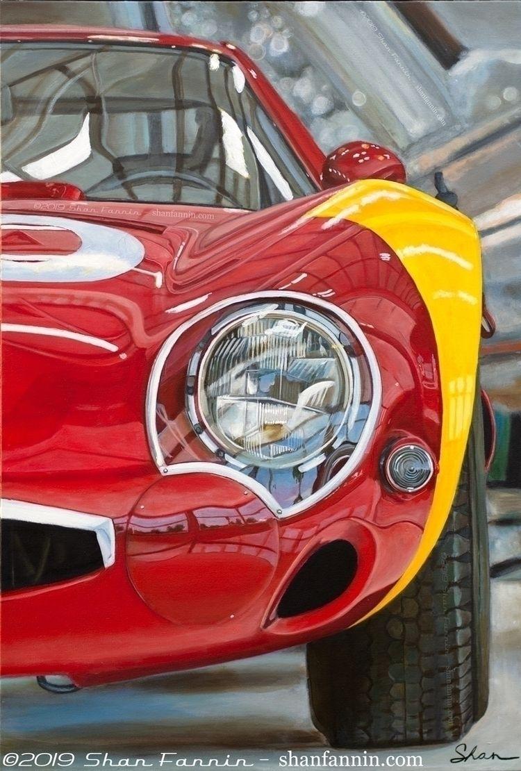 1966 Alfa Romeo TZ2, 24x36, acr - shanfannin | ello