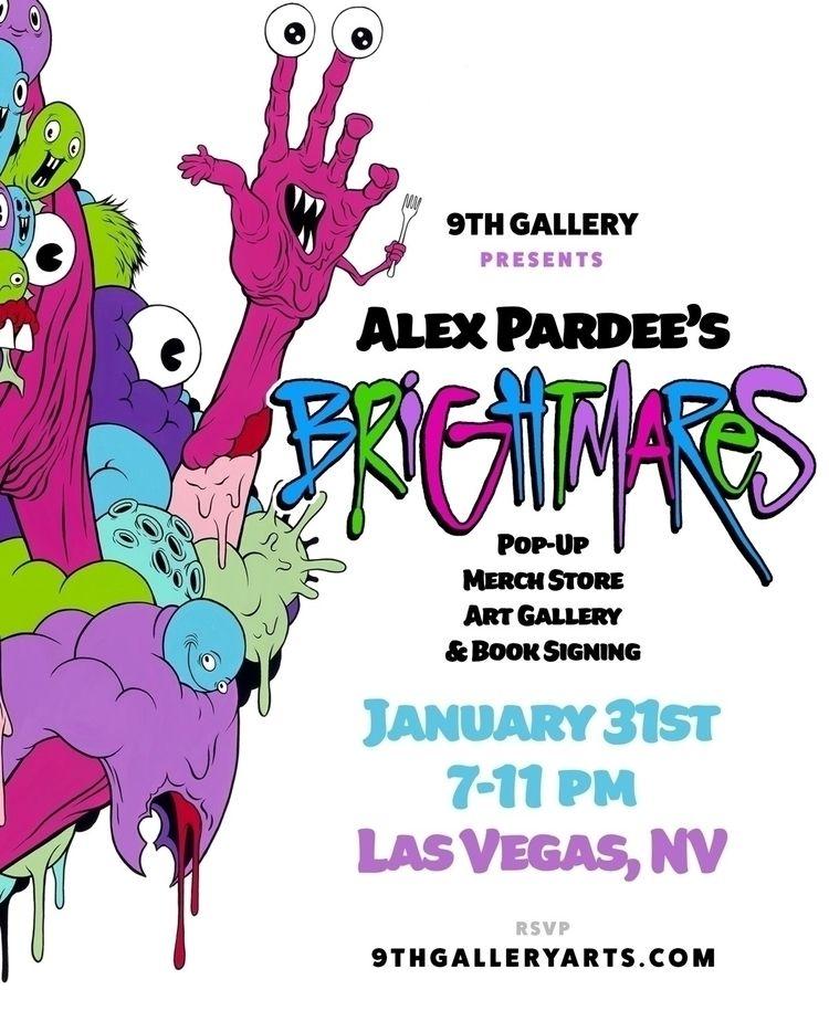 ALEX PARDEE Friday January 31st - 9thgallery   ello