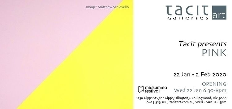works Midsumma group show Tacit - matthewschiavello | ello