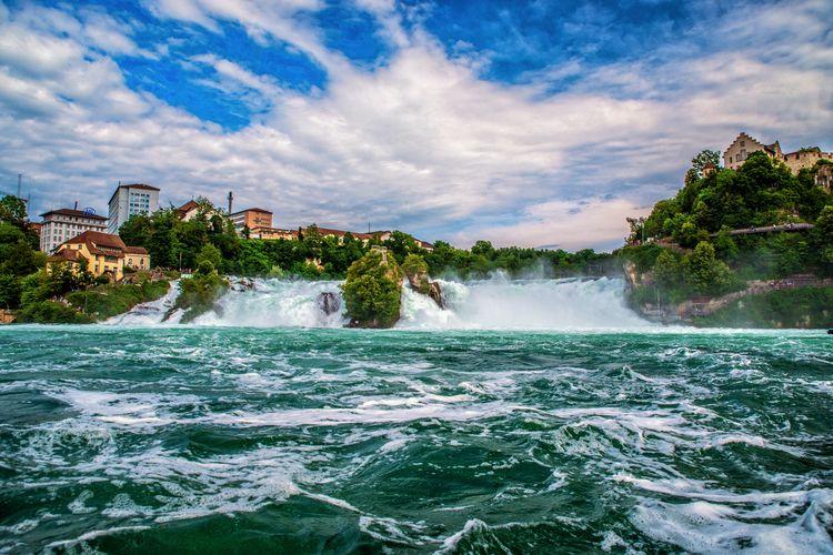 Rheinfall, RhineFalls, Switzerland - turgutmakbak   ello