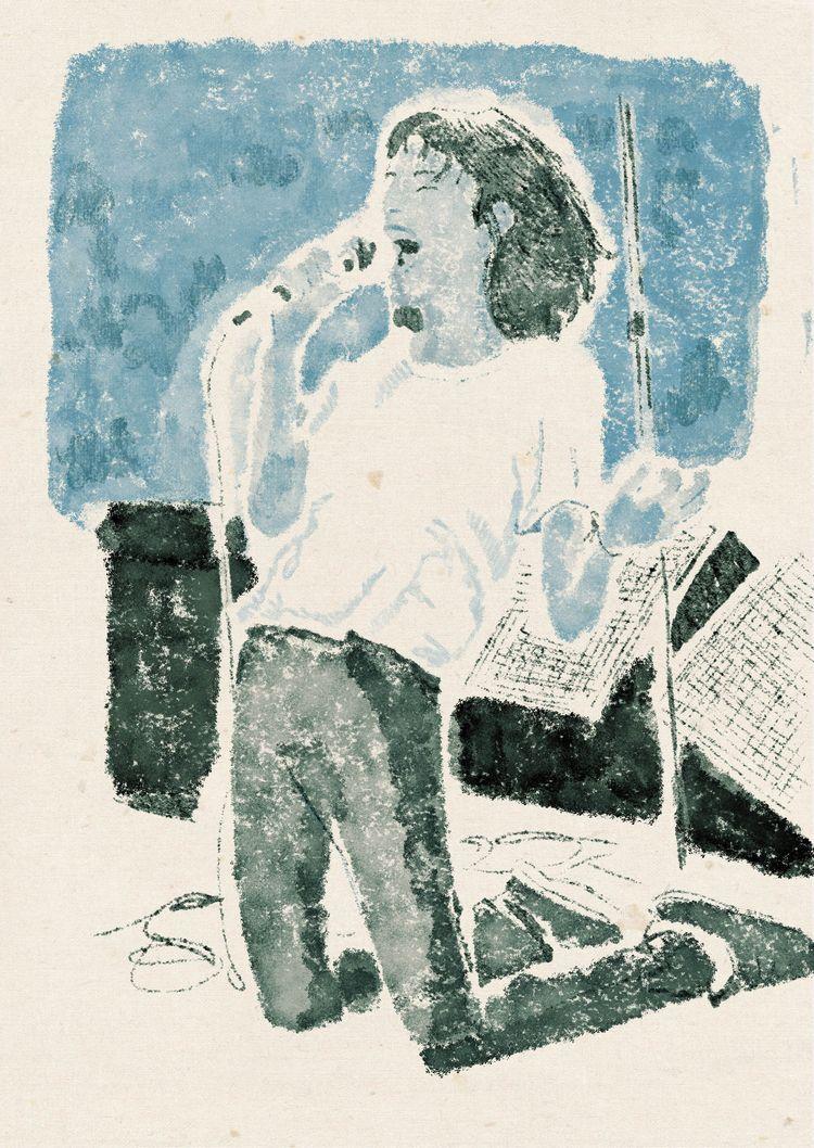Patti Smith - illustration, artwork - zoe_vadim | ello