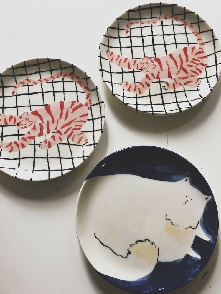 handmade ceramic plates - evigeo | ello