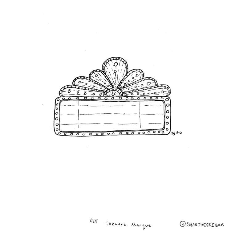 Sketch Daily - 115 Theater Marq - svaeth | ello
