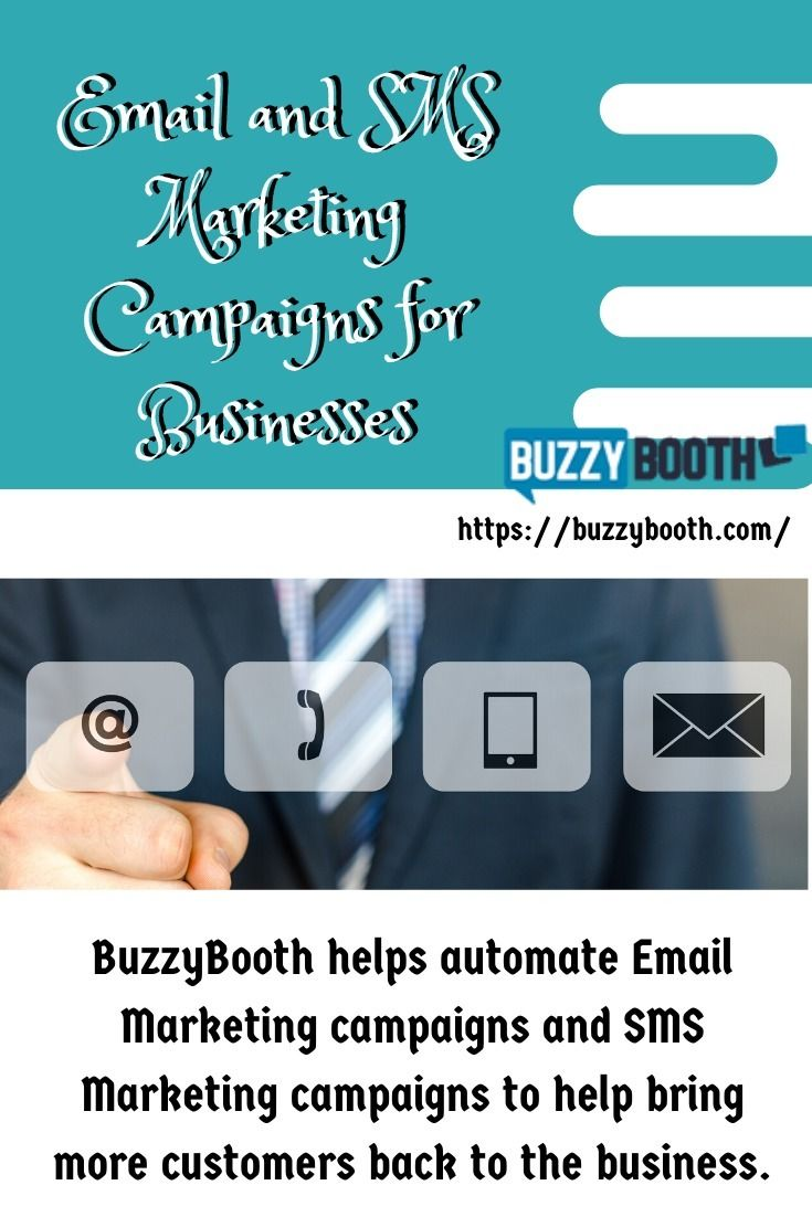 Email SMS Marketing Campaigns B - buzzybooth-media | ello