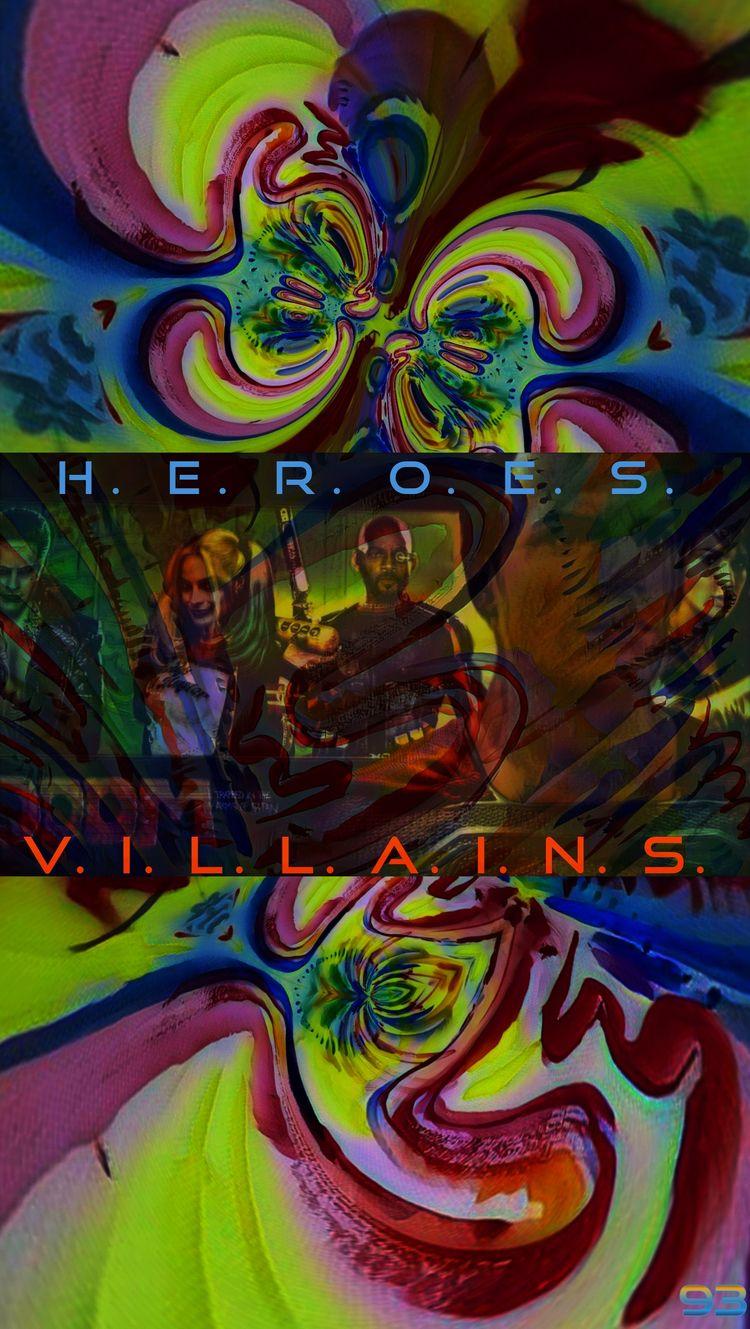HEROES VILLAINS DC UNIVERSE - T - novaexpress93 | ello