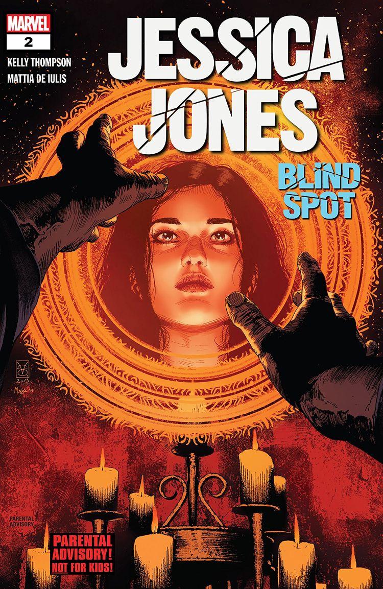 Jessica Jones Blind Spot Marvel - oosteven | ello