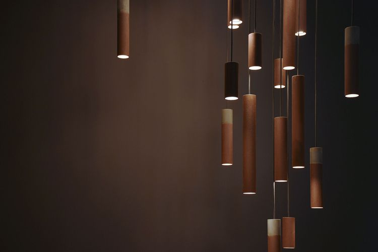 series rusty lighting designed  - gessato | ello