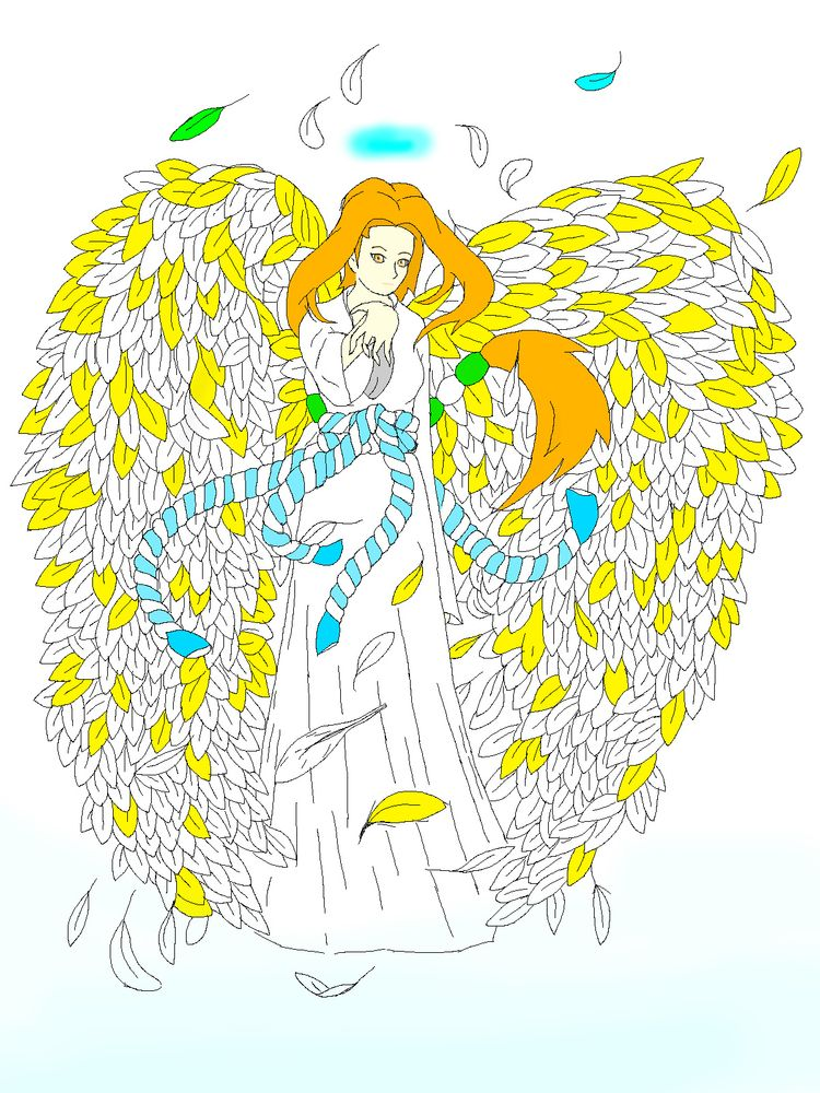 Pixel art angel - illustration, ange - ytt | ello